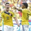 James Rodriguez (Colombia) miglior giocatore Fifa dei gironi Mondiali 2014