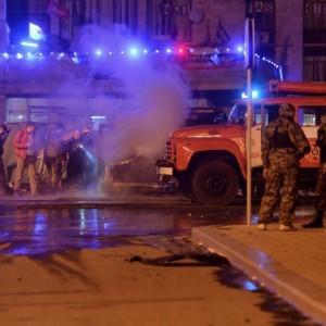 Ucraina, violenta esplosione nel centro di Donetsk: salta auto capo insorti