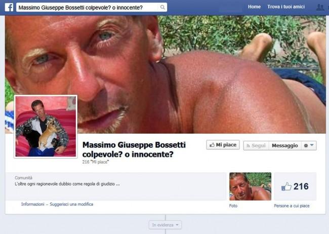"""Massimo Bossetti, le pagine su Fb: """"colpevole o innocente?"""