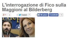 """Roberto Fico: """"Perché Monica Maggioni a Bilderberg?"""". Interrogazione alla Rai"""