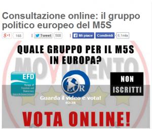 """Blog Beppe Grillo, utenti in rivolta: """"Referendum M5s a Bruxelles farlocco"""""""