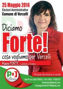 Ballottaggio Vercelli: Maura Forte sindaco col 67%. Wikipedia aveva ragione