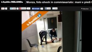 Monza. I pm: non è reato legare mani e piedi immigrato ubriaco che da di matto
