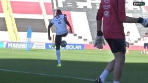 Mondiali 2014: Paul Pogba, palleggio spettacolare in allenamento