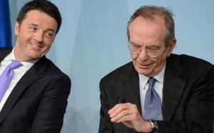 Metodo Renzi in Europa: Padoan e Mogherini promossi a Bruxelles e rimossi a Roma