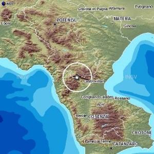 Terremoto Pollino, 3 scosse in 24 ore: più forte del 3,9 tra Rotonda e Mormanno