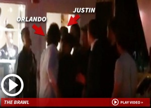 Orlando Bloom, cazzotto a Justin Bieber. Motivo? Miranda Kerr (VIDEO)