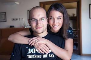 Luca Barisonzi in sedia a rotelle sul Monte Rosa: è la prima volta