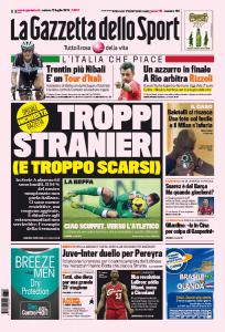 Calcio italiano in crisi, troppi stranieri scarsi: inchiesta della Gazzetta