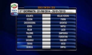 Calendario Serie A 2014-2015: scarica qui