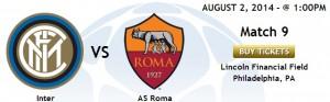 Roma-Inter, amichevole Guinnes Cup. Quando giocano, dove vederla