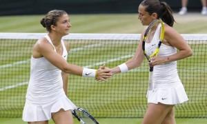 Wimbledon, trionfo Errani-Vinci: battute in finale Babos e Mladenovic