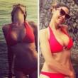 Cecilia Capriotti in sexy bikini rosso04