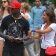 Mario Balotelli e Fanny Neguesha visitano l'Empire State Buiding04
