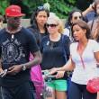 Mario Balotelli e Fanny Neguesha visitano l'Empire State Buiding3
