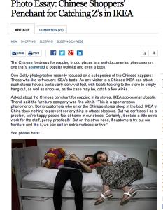 Cina, da Ikea per fare il pisolino. Le foto di Getty