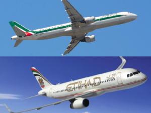 "Alitalia, 1000 esuberi riassorbiti. Piloti/hostess offrono a Etihad ""pace sociale"""