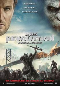 """""""Apes Revolution"""", guerra tra scimmie e umani (trailer e trama)"""