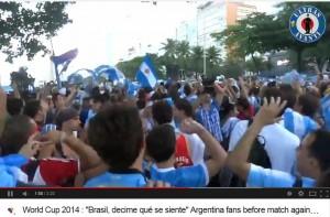 """Brasil, decime qué se siente"": il coro anti-brasiliani dei tifosi argentini VIDEO"