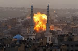 Bombe a Gaza