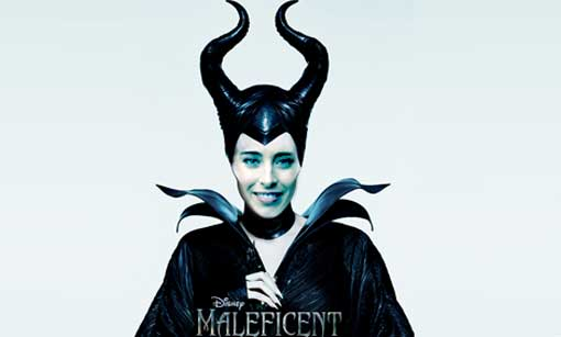Blog Beppe Grillo: Maria Elena Boschi diventa Maleficent FOTO