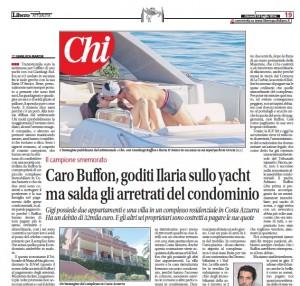 """""""Io, costretto a pagare i debiti di Buffon"""", Gianluca Marchi su Libero"""
