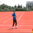 Cina, la pista di atletica rettangolare04