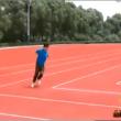 Cina, la pista di atletica rettangolare03