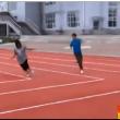 Cina, la pista di atletica rettangolare02
