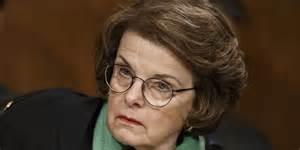 La senatrice Dianne Feinstein