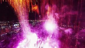 Miami, il drone tra i fuochi d'artificio del 4 luglio