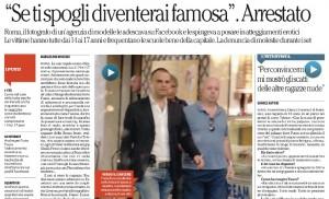 Roma, arrestato il fotografo Furio Fusco per book