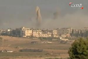 Gaza, Sajaya raso al suolo: il quartiere prima e dopo le esplosioni