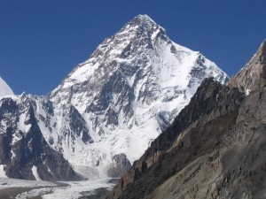 Italiani su K2: Tamara Lunger, Nikolaus Gruber, Michele Cucchi, Giuseppe Pompili