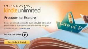 "Amazon lancia Kindle Unlimited, e-book ""all you can read"" a 9,99 dollari al mese"