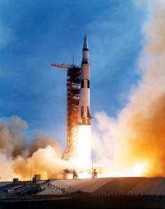 Il lancio del Saturn V