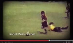 Lionel Messi a 7 anni, Lavezzi a 10, Higuain a 12: guarda il video dei campioni argentini da bambini