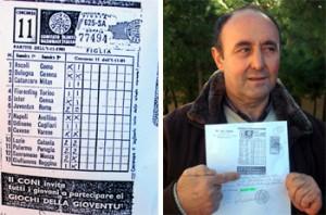 Martino Scialpi, schedina da 13 nel 1981: ultima speranza per riscuoterla