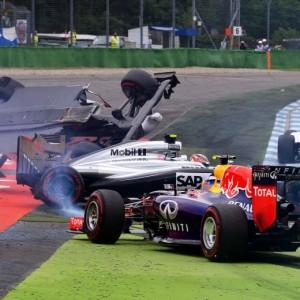 F1, incidente Felipe Massa-Kevin Magnussen: Gp Germania finito per loro VIDEO