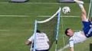 Messi rovesciata da urlo in allenamento prima della finalissima (VIDEO)