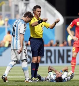 Nicola Rizzoli arbitro di Germania-Argentina