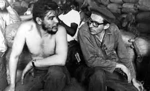 Orlando Borrego con Che Guevara durante la rivoluzione cubana