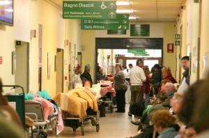 Roma. Ai Pronto Soccorso 9 ore d'attesa. Medici in ferie, pazienti in aumento