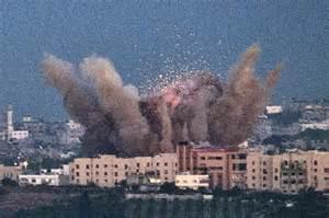 Razzi di Hamas su Israele