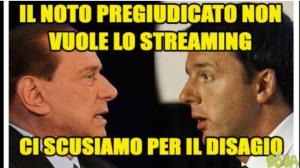 """Renzi vede Berlusconi. Poi M5s, ma Grillo attacca: """"Incontri Noto Pregiudicato"""""""