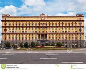 La sede dei servizi segreti russi a Mosca