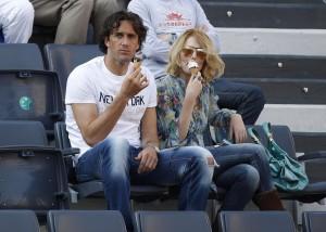 Luca Toni e Marta Cecchetto: è nato Leonardo, il secondo figlio della coppia