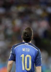 Lionel Messi (foto Lapresse)