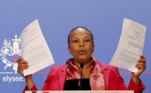 """Francia, """"ministra Christiane Taubira scimmia"""": ex candidata Fn condannata"""
