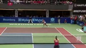Taylor Townsend, la tennista che in campo fa il doppio da sola